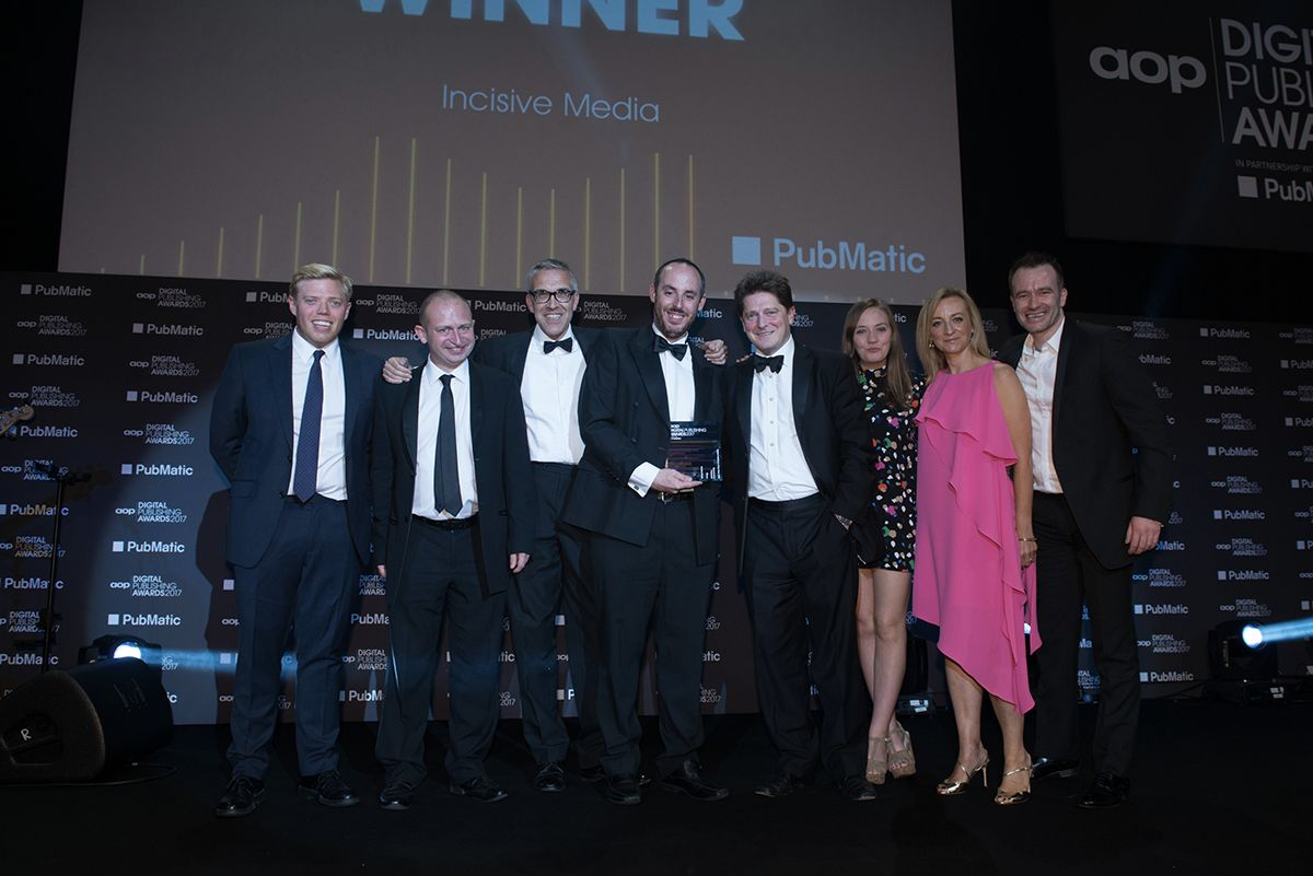incisive win aop b2b silverware for a second consecutive year